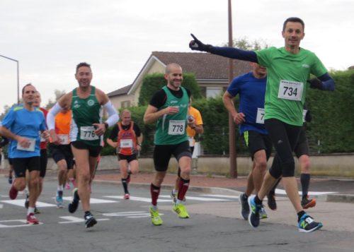 Résultats Courses 10 kms Riorges 2018