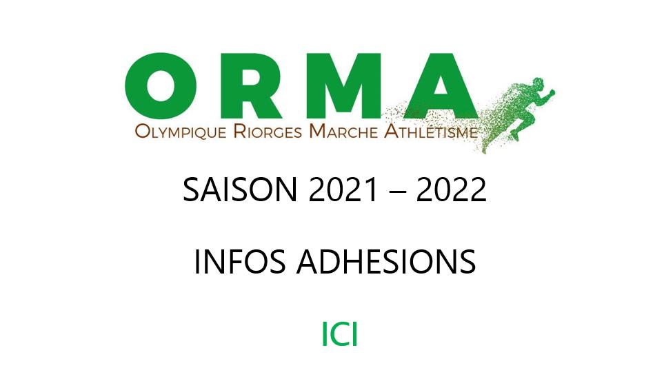 Saison 2021/2022 Adhésions Infos + Pass Sanitaire + Tarifs